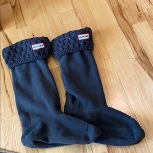 Hunter Boots Original Cable Cuff Short Boot Socks